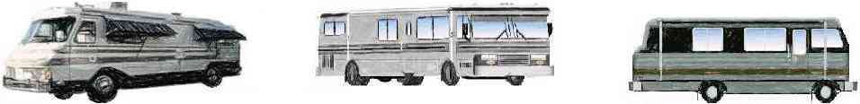 Barth Custom Coach RV Pencil Drawings